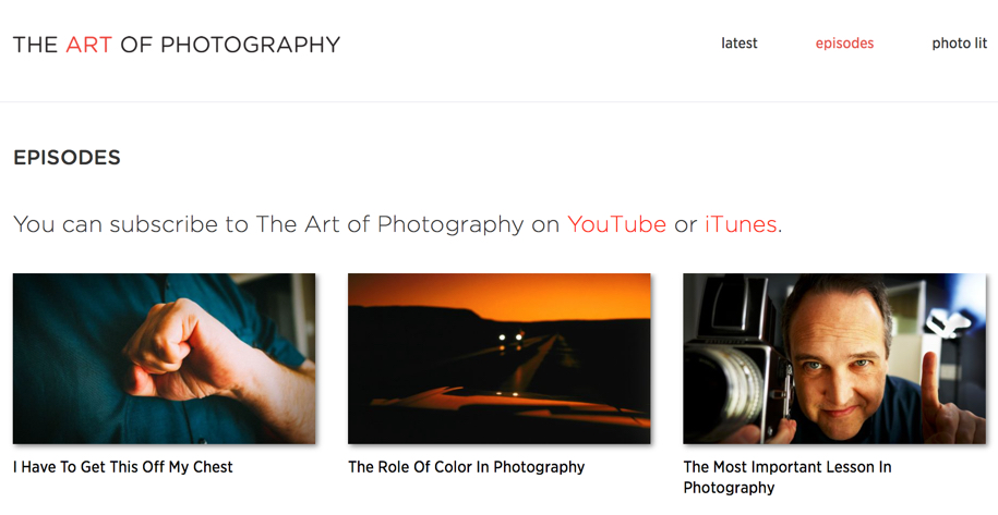 the-art-of-photography