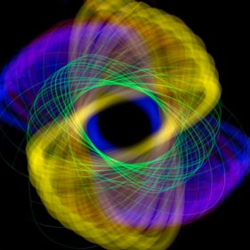 Spirographics in Three Colours