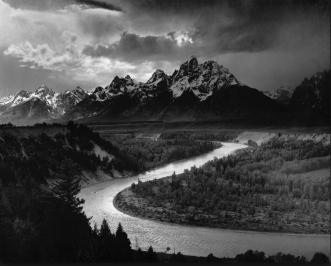 Ansel Adams Grand Tetons and Snake River