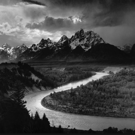 Ansel Adams Grand Tetons and Snake River