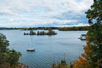 Fall in Gananoque