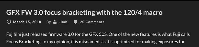 GFX Focus Bracketing