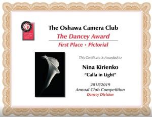 Calla Award