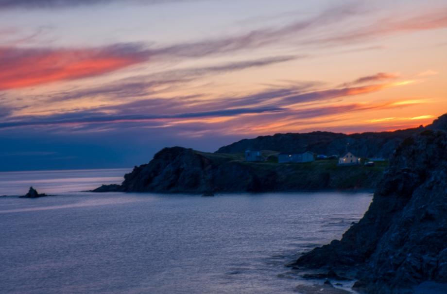 Sunset at Crow Head