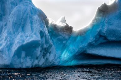 """Twillingate Iceberg """"Blue Light"""""""