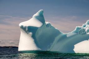 """Twillingate Iceberg """"Ice Cream Cone"""""""