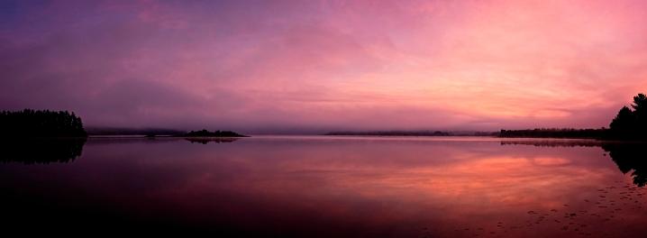 Lake Traverse at Dawn